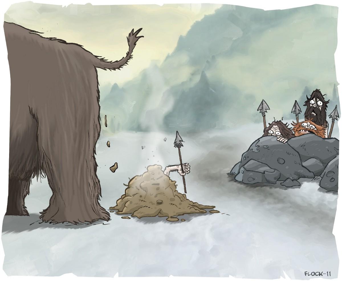 Premier accident de chasse de l'histoire
